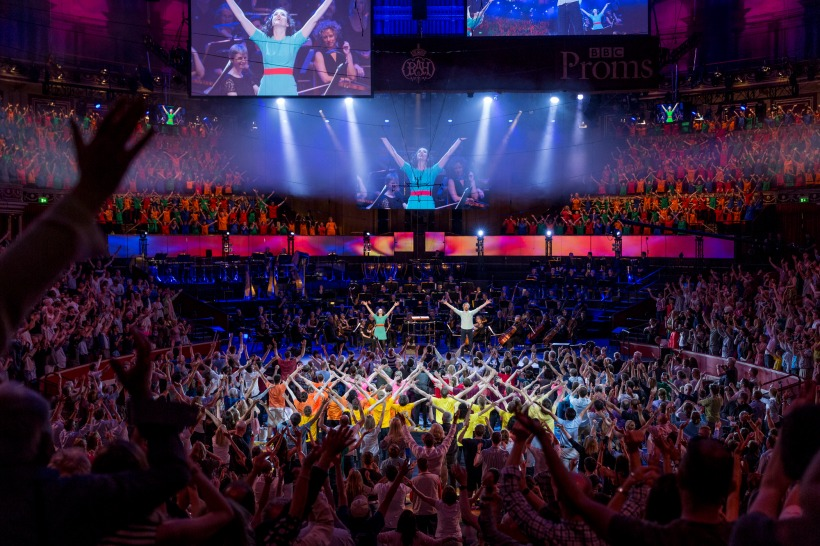 BBC PROMS - Ten Pieces - Live from The Royal Albert Hall, London. Photographer: Guy Levy